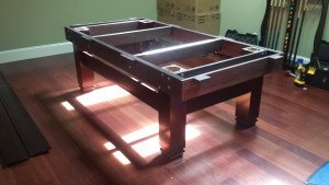 Pool and billiard table set ups and installations in Matthews North Carolina